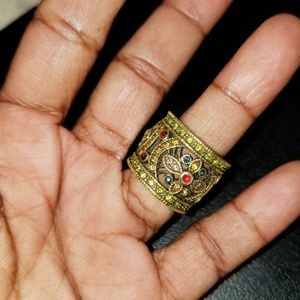 Heidi Daus Jewelry - Heidi Daus Crystal Cigar Band Ring